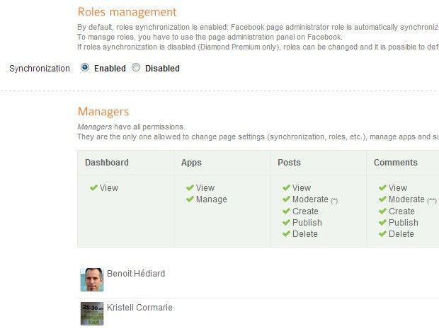 Facebook admin roles Agorapulse 1