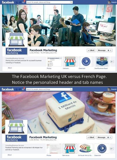 Facebook Global pages: their real coast