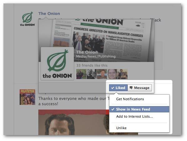 negative feedback facebook