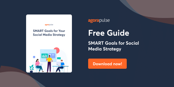 Download a guide for smart goals for social media strategy ebook