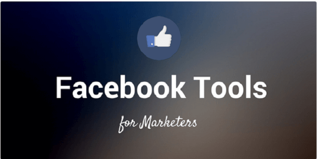 facebook tools for marketers