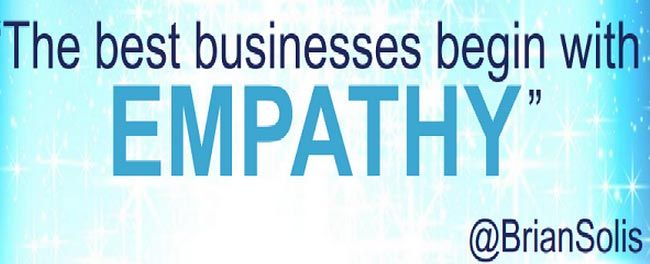 the best business being with empathy