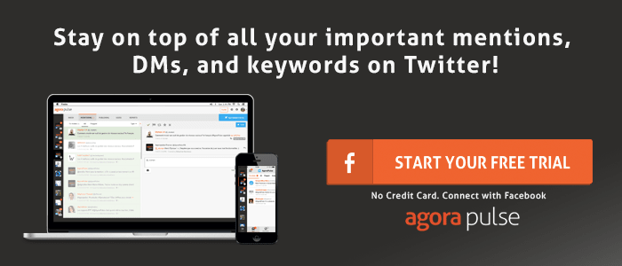 Twitter management tool Agorapulse