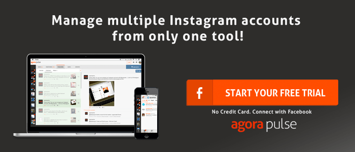 Instagram management tool Agorapulse