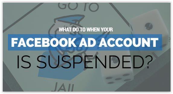 facebook account suspendet