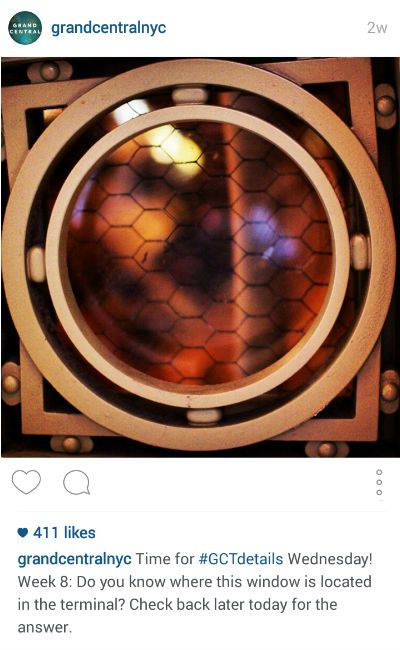 Grand Central GCT Instagram Post
