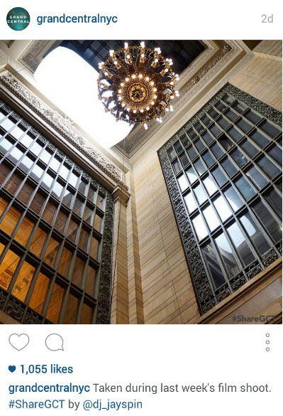 Grand Central ShareGCT Instagram Post
