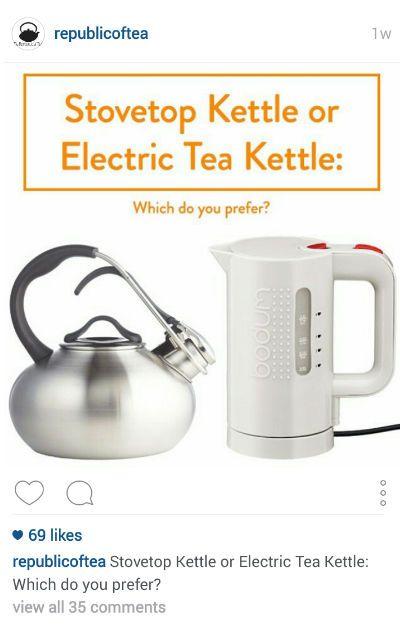 Republic of Tea Instagram Post