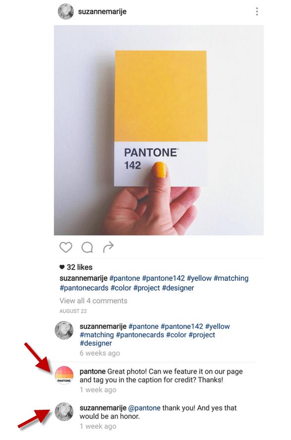 instagram etiquette reposting