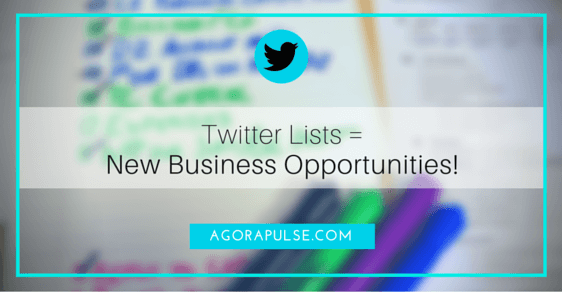 twitter lists business