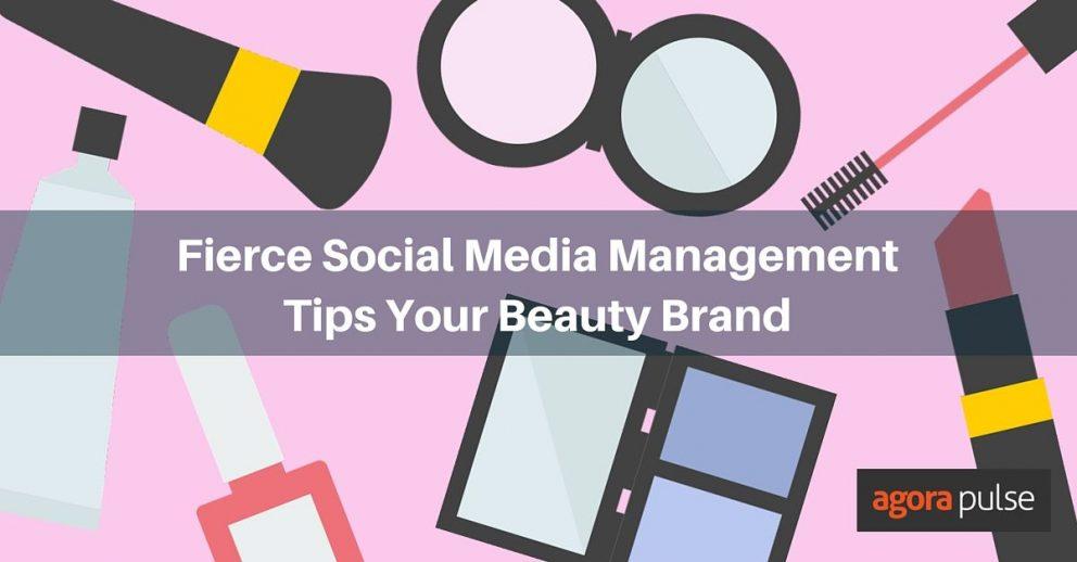 social media for beauty