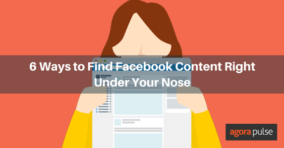 Find Facebook Content