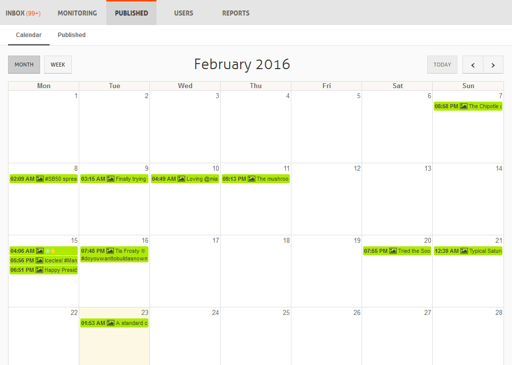 agorapulse-instagram-calendar