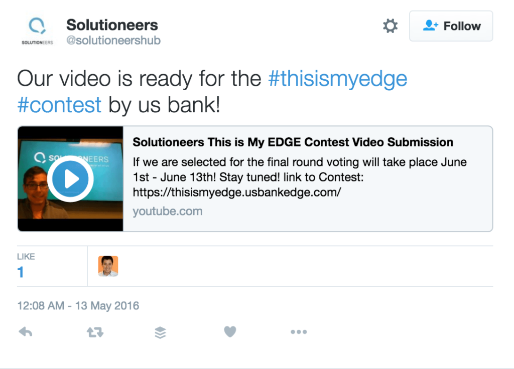 user generated content contest
