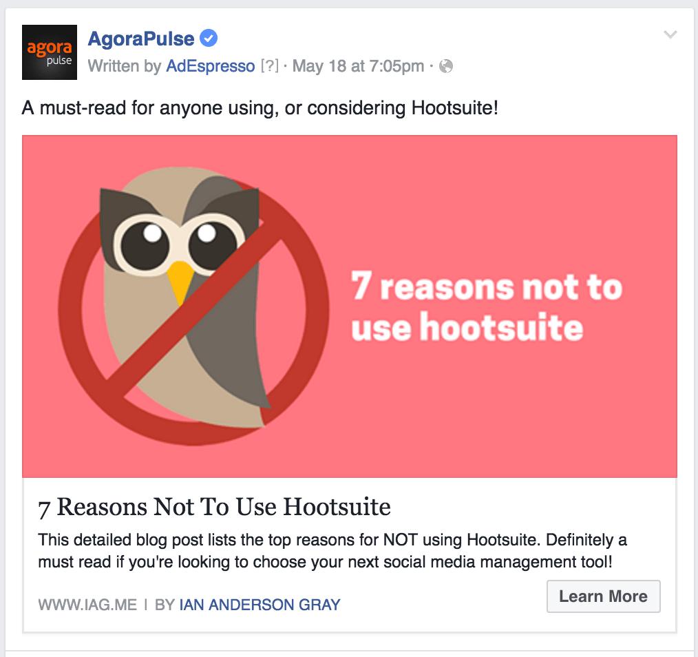 Alternative to Hootsuite