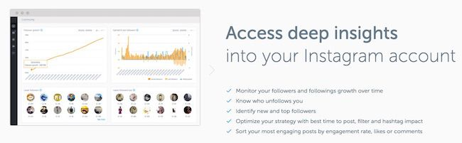 instagram analytics tool iconosquare
