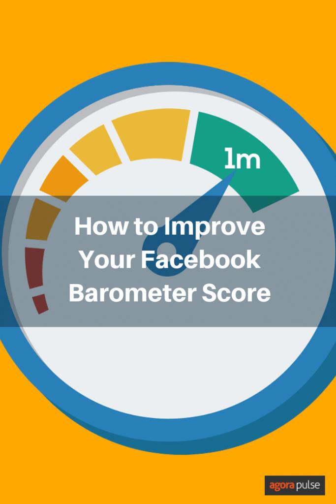 improve your Facebook Barometer score