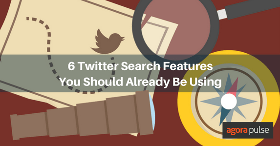 Twitter search features