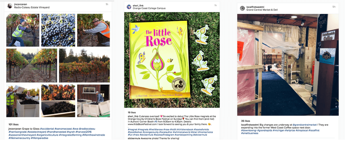 hashtag tips: Use multiple hashtags on Instagram