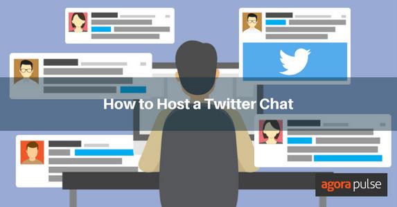 host twitter chat