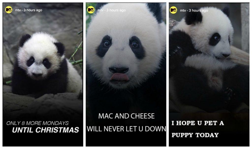 MTV shares Monday Inspiration using Instagram Stories
