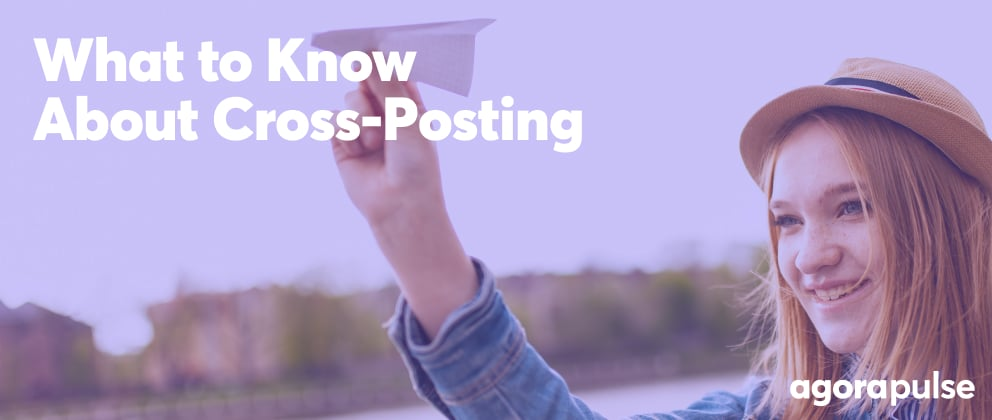 header image for what to know about cross-posting article