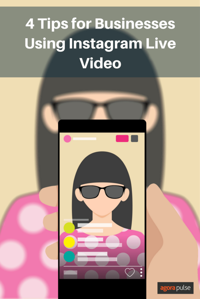 Tips for using Instagram Live for your business.