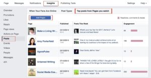 Facebook Tool- Pages You Watch