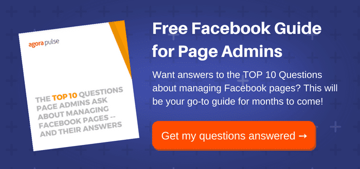 managing facebook pages