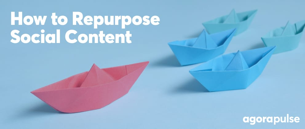 header image for how to repurpose social media content