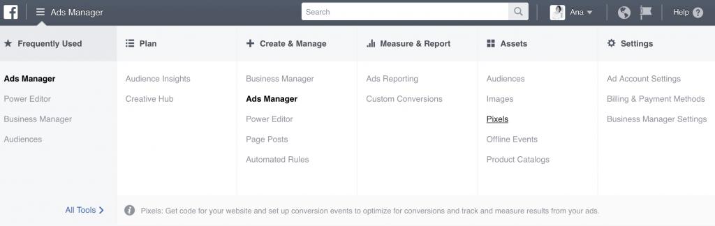 new facebook conversion pixel