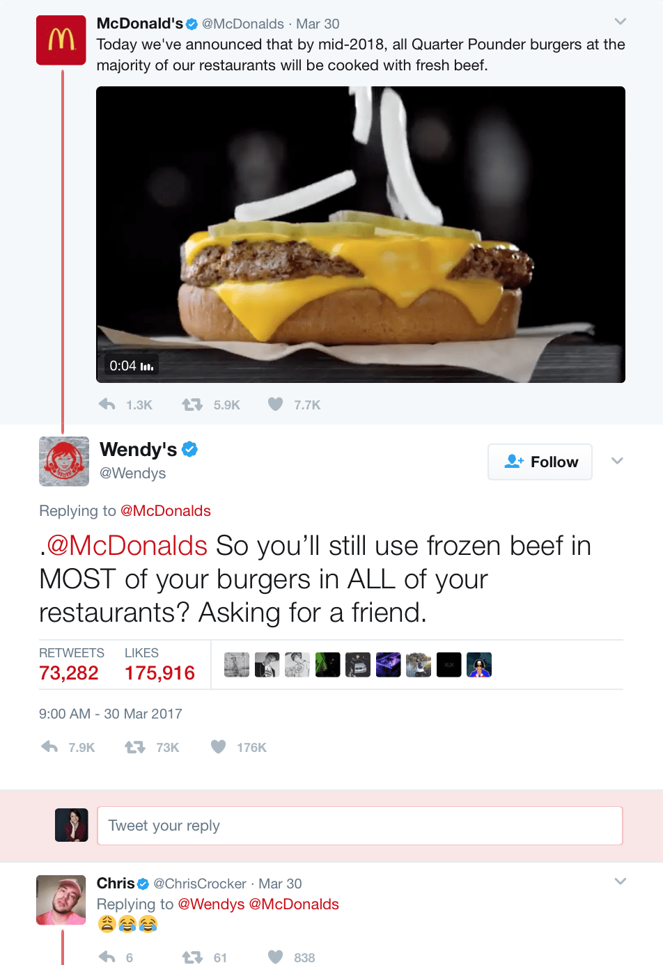 Wendy's Twitter lessons to learn from
