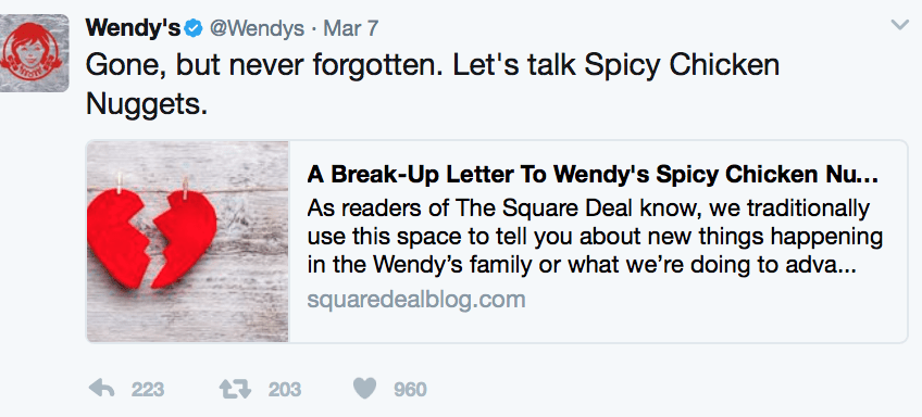 wendys twitter lessons