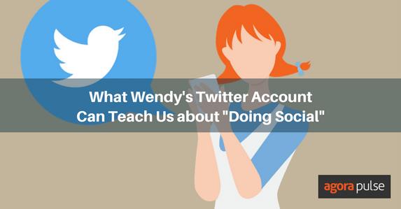 Wendy's Twitter account