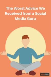 Advice from Social Media Gurus