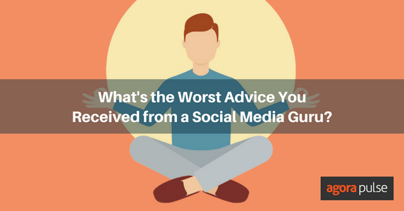 Social Media Guru Advice