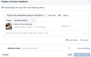 strategies to improve Facebook event attendance