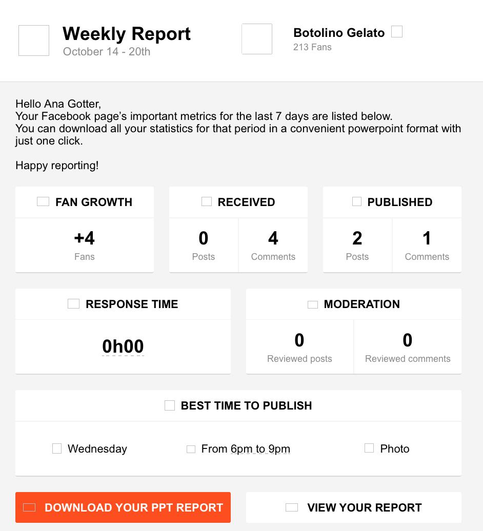 social media audit tools - agorapulse