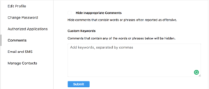 manage Instagram comments and fight the trolls on Instagram
