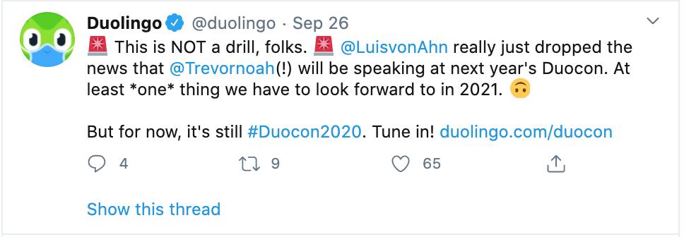 duolingo example