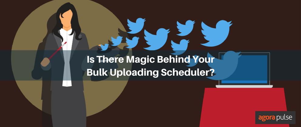 bulk uploading scheduler