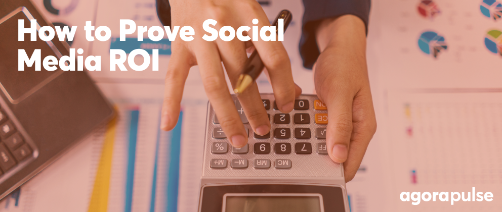 header image for how to prove social media roi
