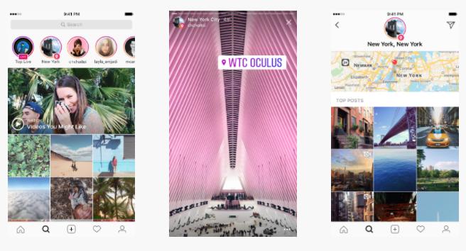 Instagram location stories-- getting more exposure