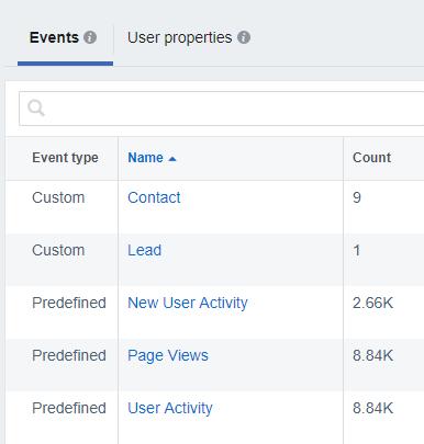 prove social ROI-- Facebook tracking pixel