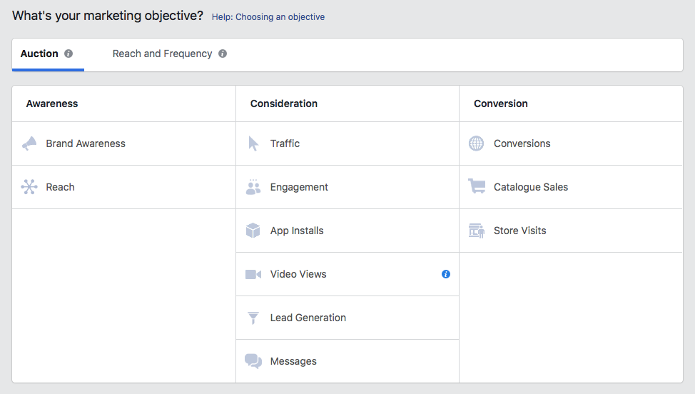 Split test your Facebook ad-- Guided Creation Flow