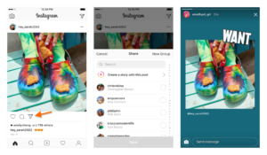 instagram feed posts to stories
