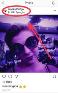 Social media platforms-- Instagram tagging