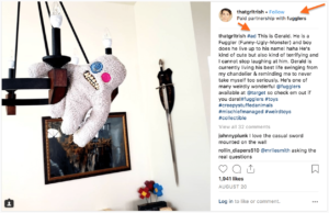 Instagram influencers-- clarifying it's an ad