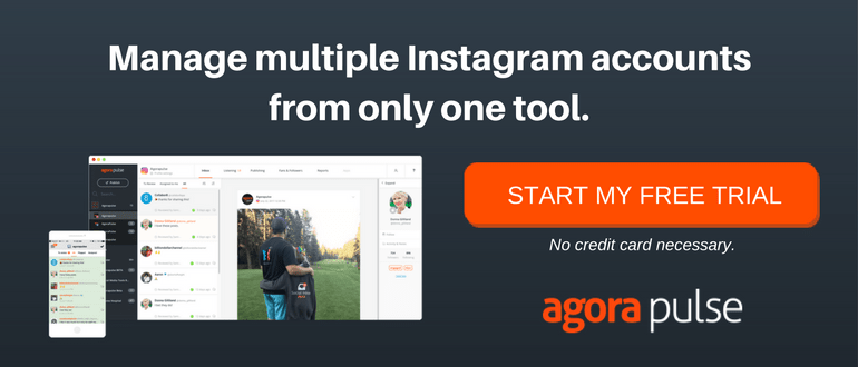 manage multiple instagram accounts from only one tool