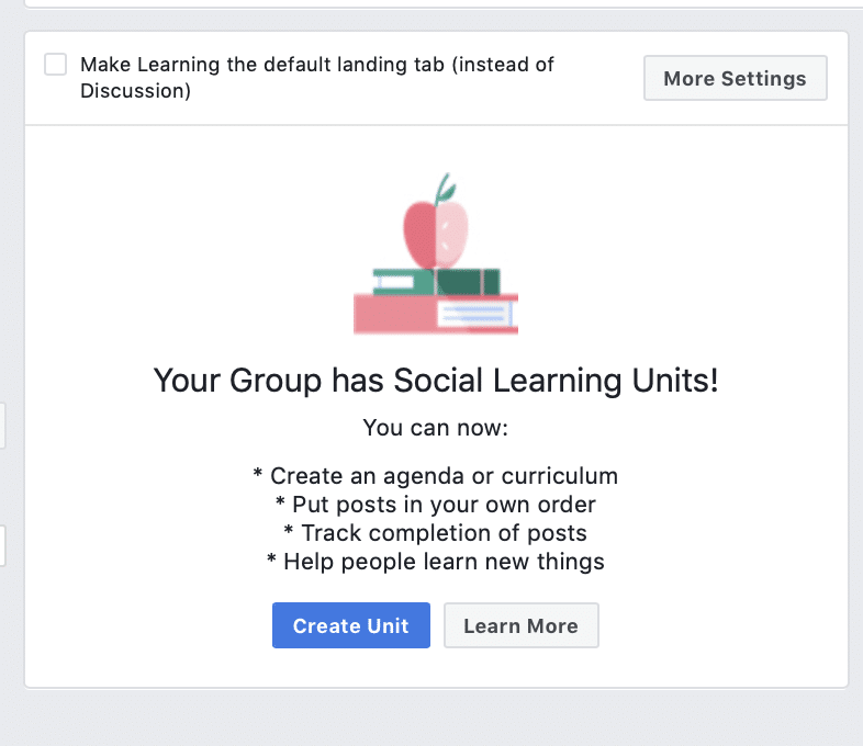facebook group features